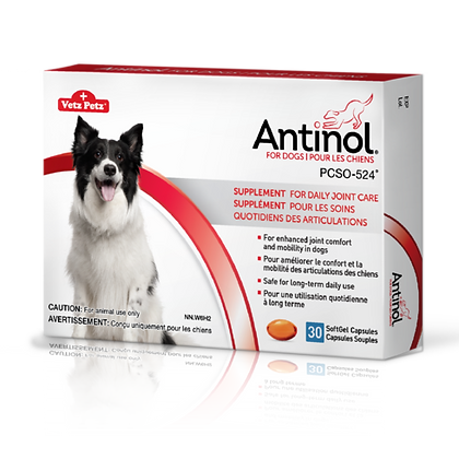Antinol for Dogs - 30 SoftGels