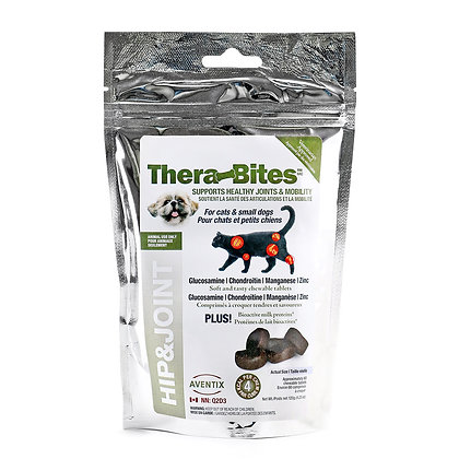 Thera-Bites Hip and Joint for Cats and Small Dogs (60 chews)