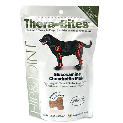 Thera-Bites Hip and Joint for Large Dogs (60 chews)