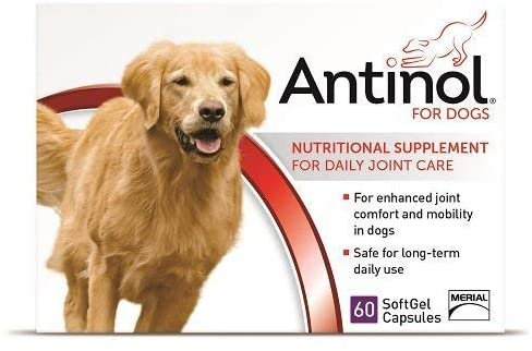 Antinol for Dogs - 60 SoftGels