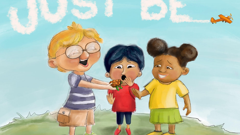 Just Be! A book promoting healthy expression of emotion and empathy