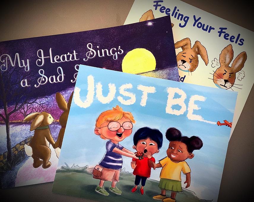 HopeSpring Studios | Gary & Kim Shockley | Author | Illustrator | Artist | Coach | Speaker | My Heart Sings a Sad Song | Just Be!
