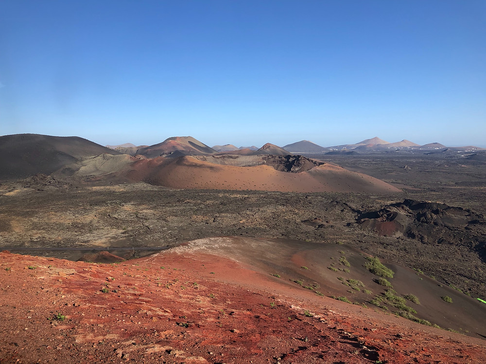 Parc National de Timanfaya, Lanzarote Photo © M.M. 2019