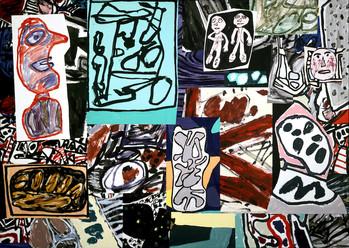 Jean Dubuffet, père spirituel de Jean-Michel Basquiat