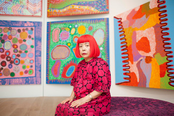 🎤 Retrospective Yayoi Kusama à la galerie Victoria Miro
