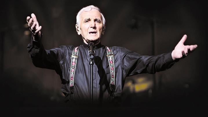 Charles Aznavour, la dernière interview