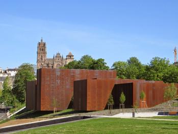🎤 Pierre Soulages inaugure son musée à Rodez