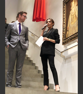 Victoria Beckham et Sotheby's s'associent...