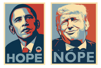 Design et politique. Obama, Trump et le Brexit: Communication ou Fake News ?
