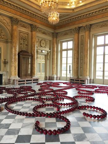 Le Centre Pompidou s'expose au sol de la Monnaie de Paris.