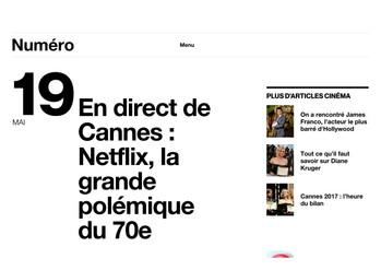 En Direct de Cannes: la polémique Netflix