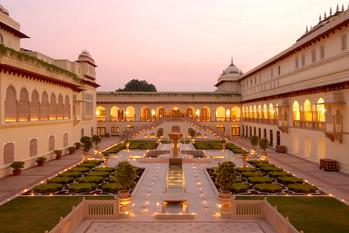 Rambagh Palace*****, résidence des Maharajas - Inde