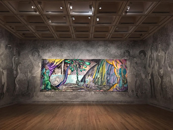 Chris Ofili envoûte la National Gallery de Londres