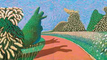 David Hockney débarque à Paris