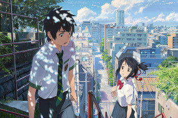 BFI: Your Name, premier film japonais d'animation en compétition