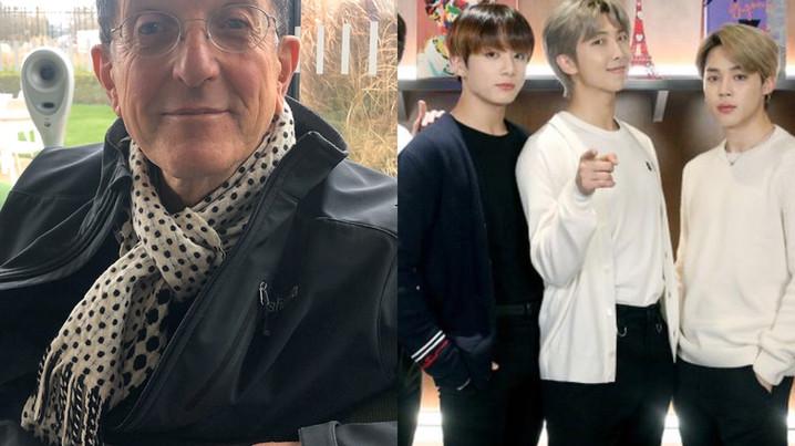 Entretien avec Sir Antony Gormley sur sa collaboration avec BTS, stars de la K-Pop