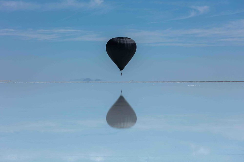 Tomas Saraceno, Photo by Studio Tomás Saraceno, 2020. Licensed by Aerocene Foundation.