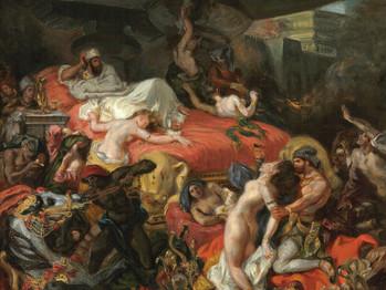 Festival de Cannes vs. Eugène Delacroix