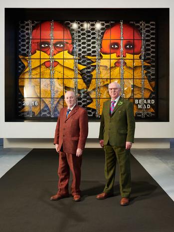 Gilbert & George : le duo d'agitateurs revient sur 50 ans de carrière lors de la BRAFA de Br