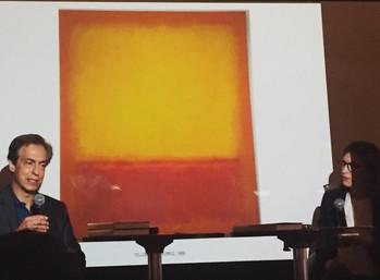 En Direct: Christopher Rothko présente un livre sur les oeuvres de son père