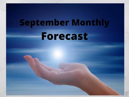 September Monthly Forecast