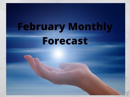 February Monthly Forecast
