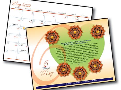 Personal Year Calendar