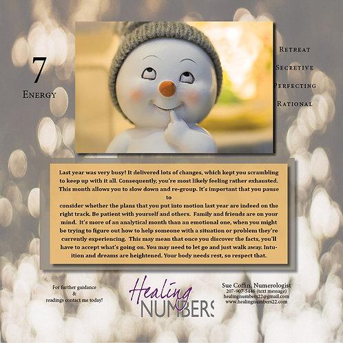 Personal Year 6 Calendar