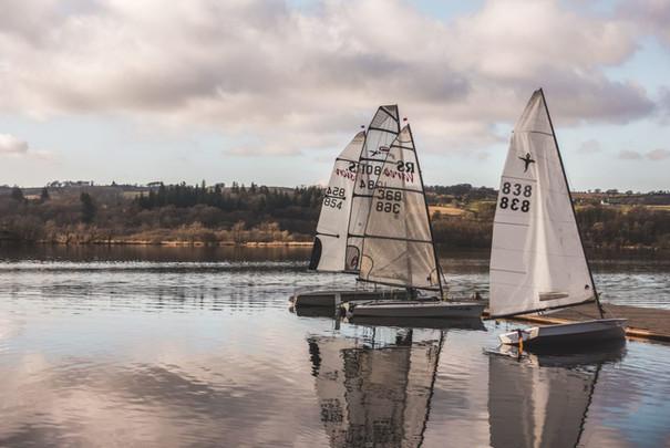 Sailing in Lochwinnoch
