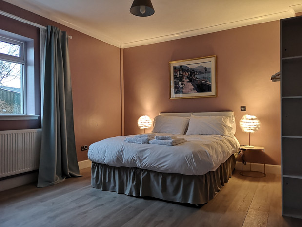 The Cottage master bedroom
