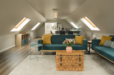 The huge 70sqm open plan in the Cottage