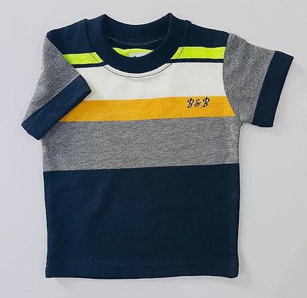 Summer Boys Round Neck Shirt 12m