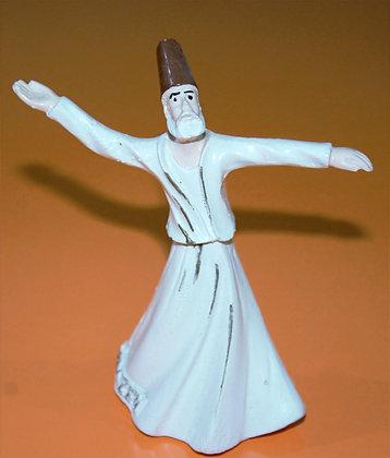 Whirling Dancing Dervish, Ceramic Dervish