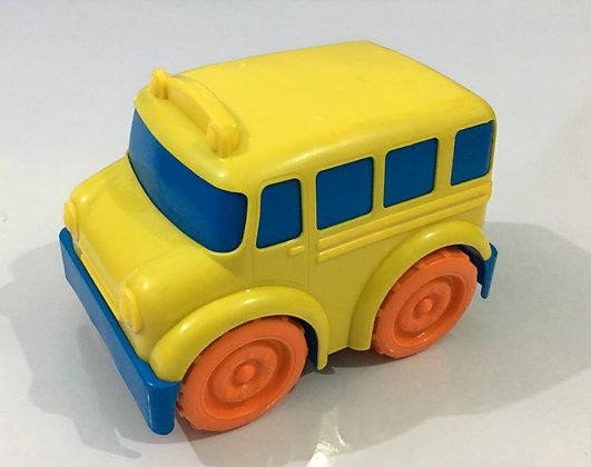 Kids Yellow Car Toy Big Size Hard Plastic