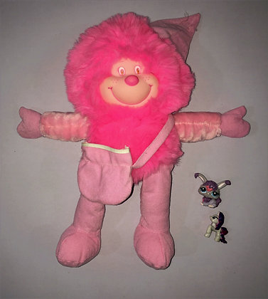 Pink Large Size Stuff Toy Action Figure