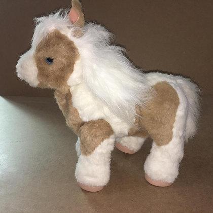 Pony Horse Stuffed Toy (Voice/Head Movement/EarMovement EyesMovement)