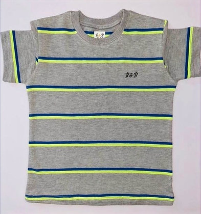 Summer Boy's Cotton Shirt Round Neck (4Y to 5Y kid)