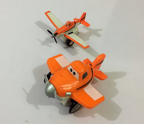 Disney Planes Dusty Plane and Glider from Thinkway Toys
