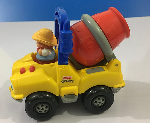 Fisher Price Little People Construction Truck