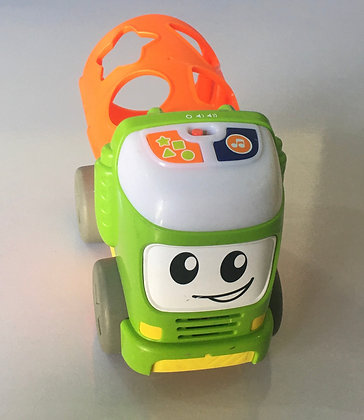 Fisher Price Sort and Spill Learning Truck, Musical Push Toy