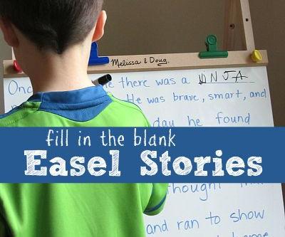 Storytelling Idea 4 - Easel Stories