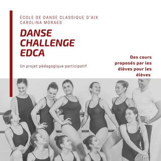 Danser à la maison avec le nouveau                 Danse Challenge EDCA