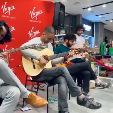 Live at Virgin Mega Store