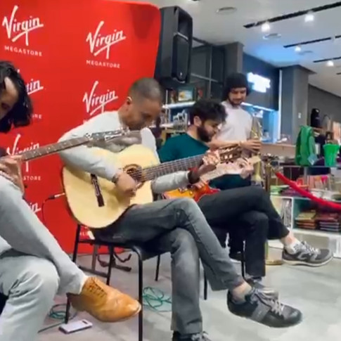 Live at Virgin Mega Store