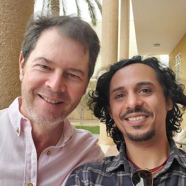 With the Spanish Saudi Ambassador