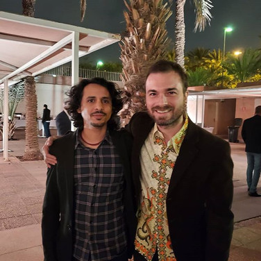 With the Spanish Songwriter Diego Montoto