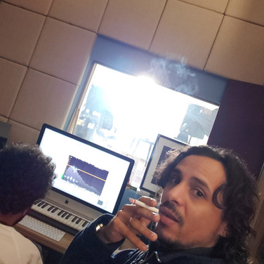 Writing Music With Azzam at Musicstation Studio
