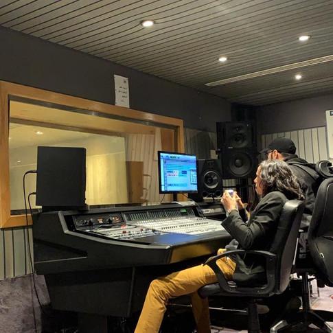 Recording for Riwayah Band at Abo Baker Salem Studio