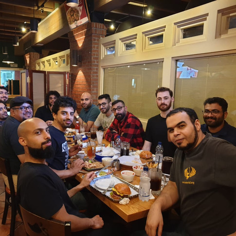 Dinner with the Metal Community