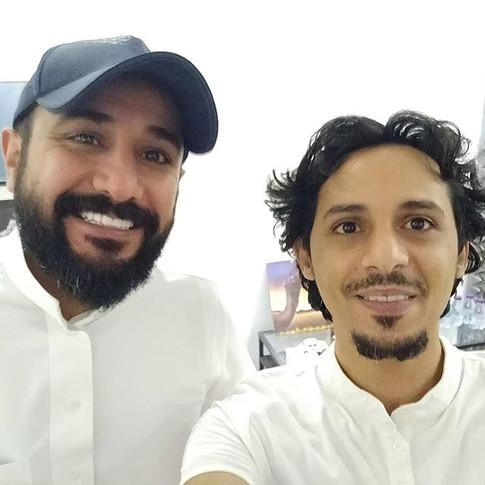 With Tarek at Tarek show